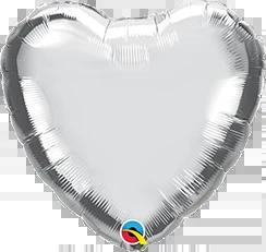 Heart Foils - 45cm