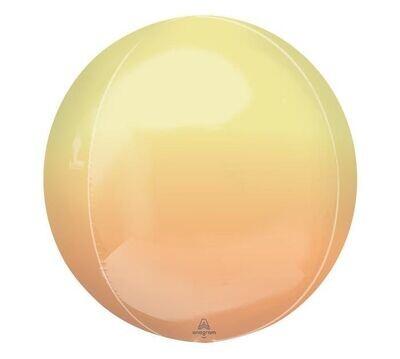 Ombre Yellow and Orange Orbz
