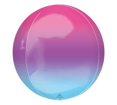 Ombre Pink and Blue Orbz