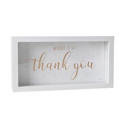 Thank you Message Box