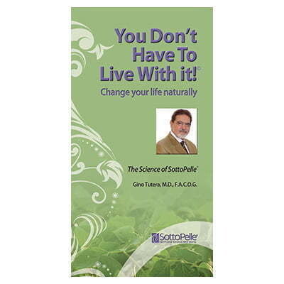 The Science of SottoPelle® | You Don't Have To Live With It!®