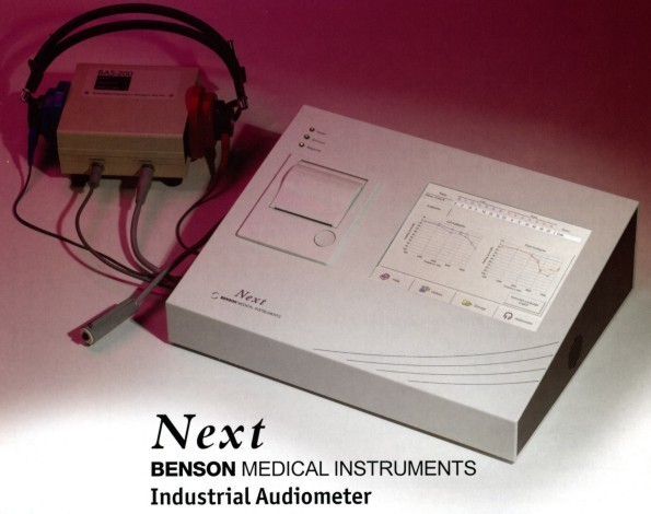 """Benson """"NEXT"""" Industrial Audiometer (call us for pricing)"""