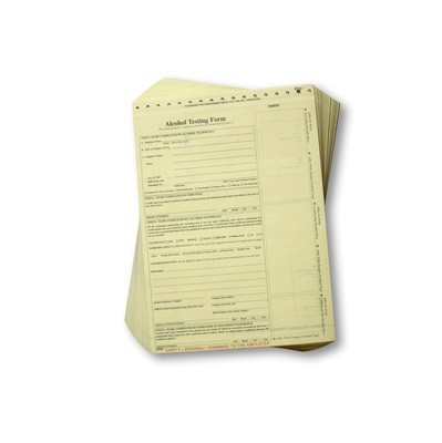 CMI Intoxilyzer Forms Non-D.O.T. (100/pad)