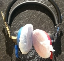 Headphone Cushion Covers - SMALL (100/bag)