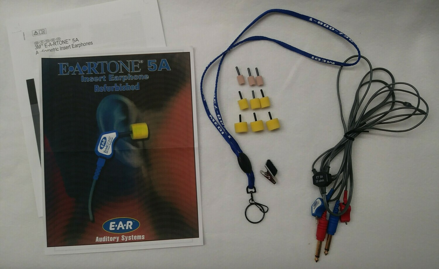 E-A-R-TONE 5A Earphones 50 Ohm—Like New (LIMITED SUPPLY) (7 LEFT)