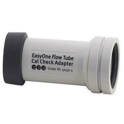 ndd EasyOne Flow Tube Cal Check Adapter