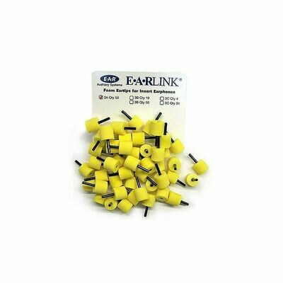 Adult Foam Eartips (50/pkg)