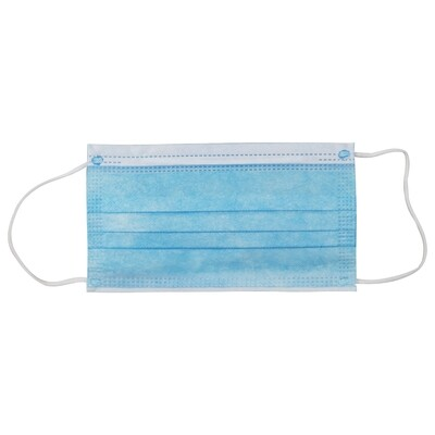 Disposable FDA-Certified SURGICAL Face Mask (100/box)