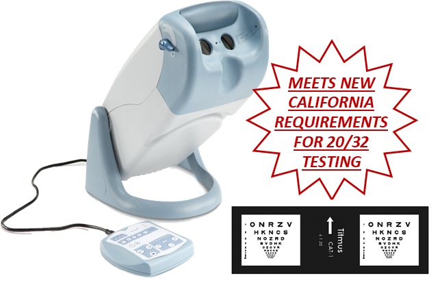Titmus V4 California Model with Remote Panel (call us for pricing)