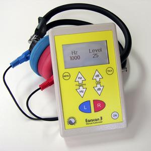 Micro Audiometrics Earscan ES3M Manual Audiometer - 5 Year Warranty
