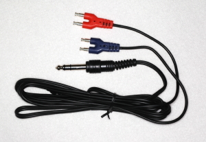 """Stereo Headset Cable 84"""" Length, Tip Left"""