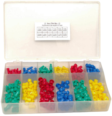 Assorted Single Use Eartips (300/box)