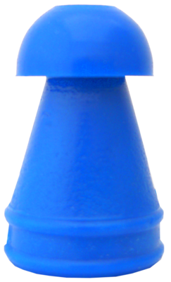9 mm Blue Replacement Eartips KR Series (100/bag)