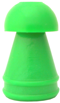 10 mm Green Replacement Eartips KR Series (100/bag)