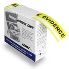 CMI Yellow Tamper Evident Tape (36 yds/roll)