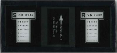 Titmus iSSLA-1 Slide, Sloan Letters