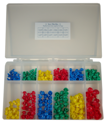 Single Use Eartip Kit GS Series  (300 per Box)