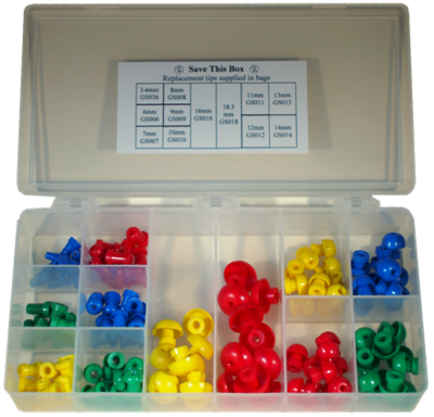 Single Use Eartip Kit  GS Series (120 per Box)