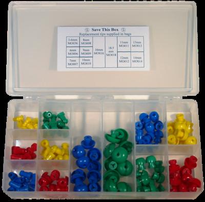 Single Use Eartip Kit MO Series - (120 per Box)