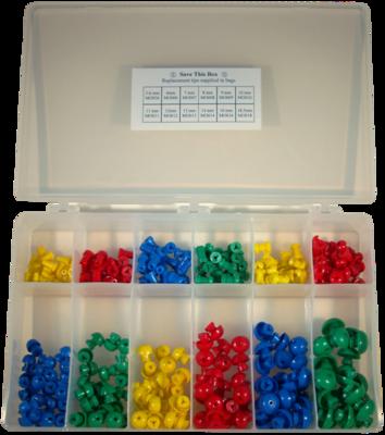 Single Use Eartip Kit MO Series (300 per Box)