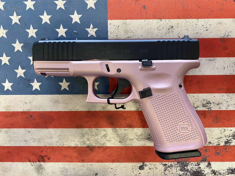 Glock 19 Gen 5 Rose Gold