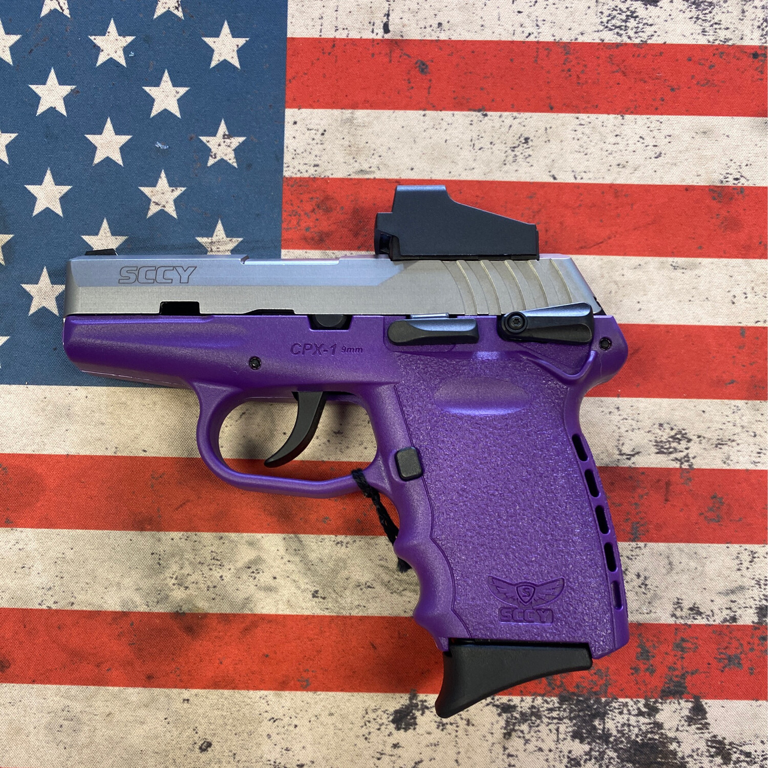 SCCY CPX9 PURPLE