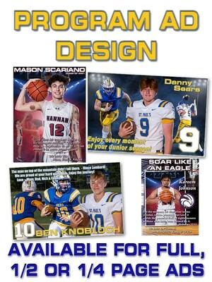 Program Ad Design