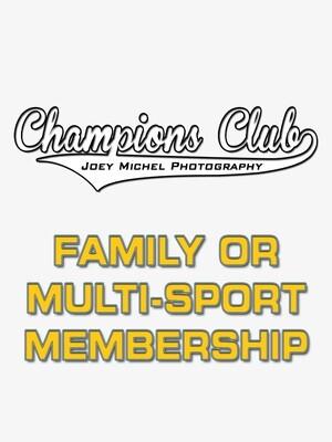 Champions Club ~ Family/Multi-Sport Membership