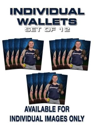Individual Wallets ~ Set of 12