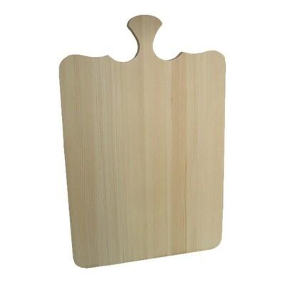 Большая, деревянная разделочная доска