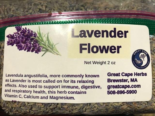 Lavender Flower Tea