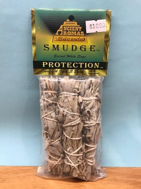 "Sage Smudge Sticks - 4"" 3 Pack"