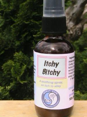 Itchy Bitchy Spray