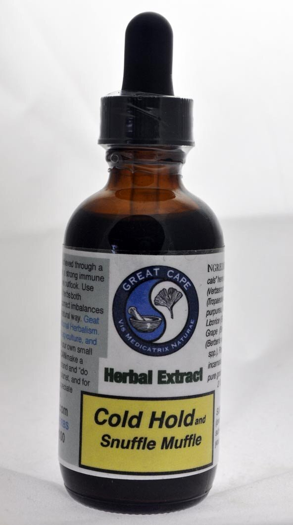 Cold Hold and Snuffle Muffle Tincture
