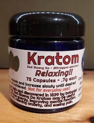 Kratom Red Maeng Da - Relaxing