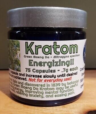Kratom Green Maeng Da ~ Energizing