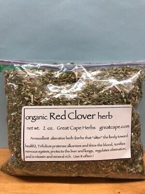 Red Clover Herb Tea