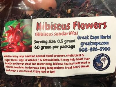 Hibiscus Flowers Tea