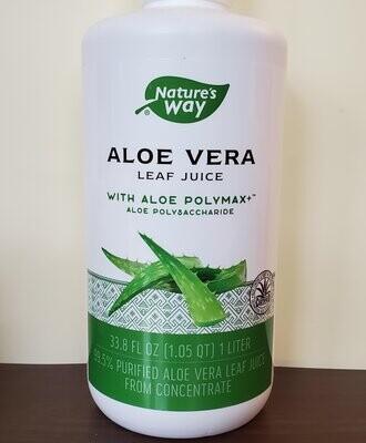 Aloe Vera Leaf Juice 33.8 FL OZ (1 Liter)