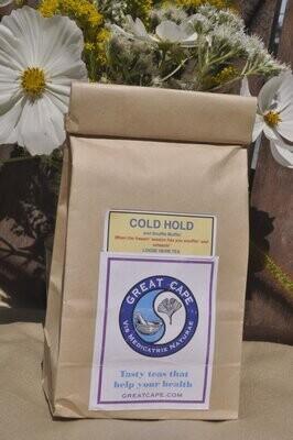 Cold Hold & Snuffle Muffle Herbal Tea