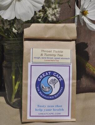 Throat Tickle and Tummy Tea