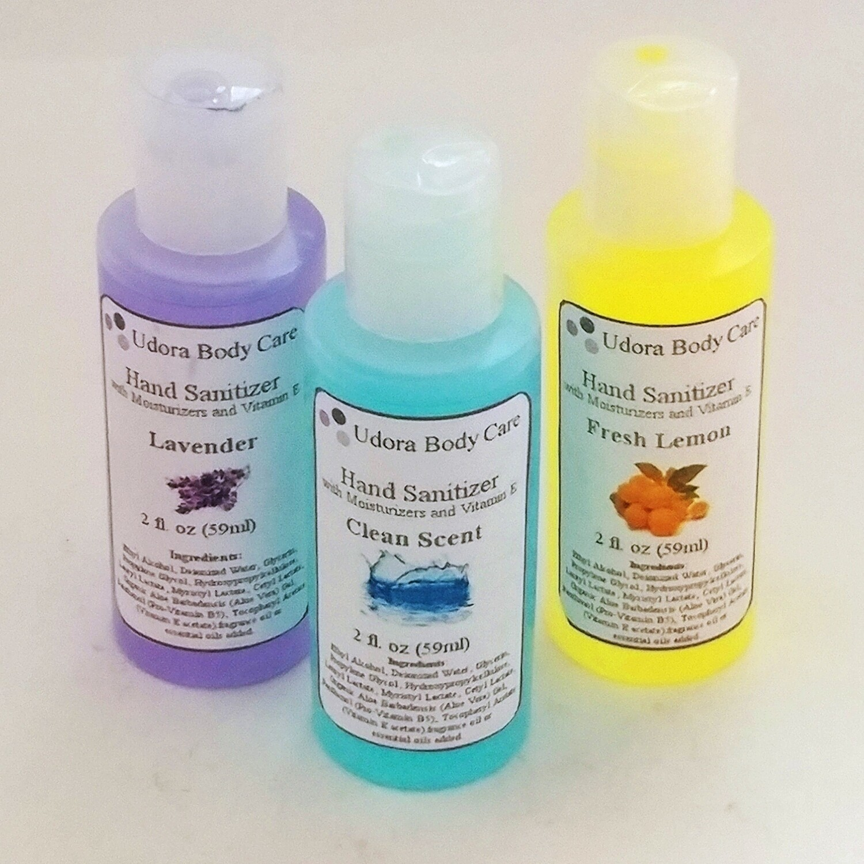 Scented Hand Sanitizer 2 oz 3-Pack
