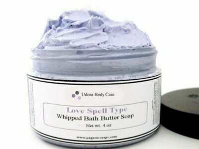 Love Spell  Whipped Bath Butter Soap 4 oz