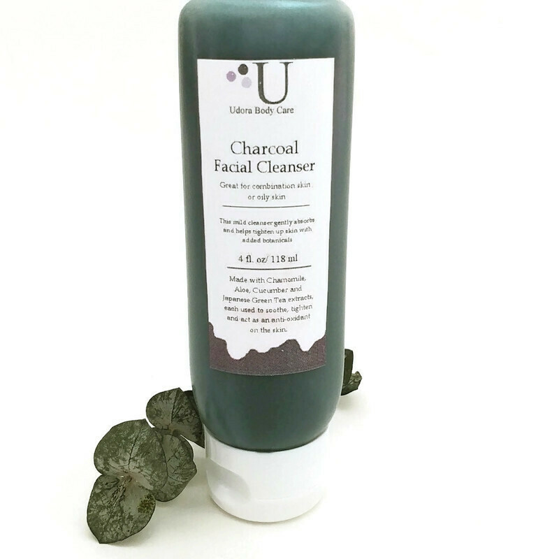 Charcoal Botanical Facial Cleanser 4 oz~ Skin Care