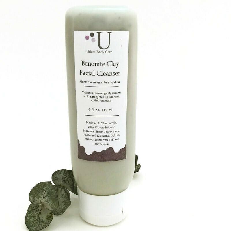 Bentonite Clay Facial Cleanser 4 oz~ Skin Care