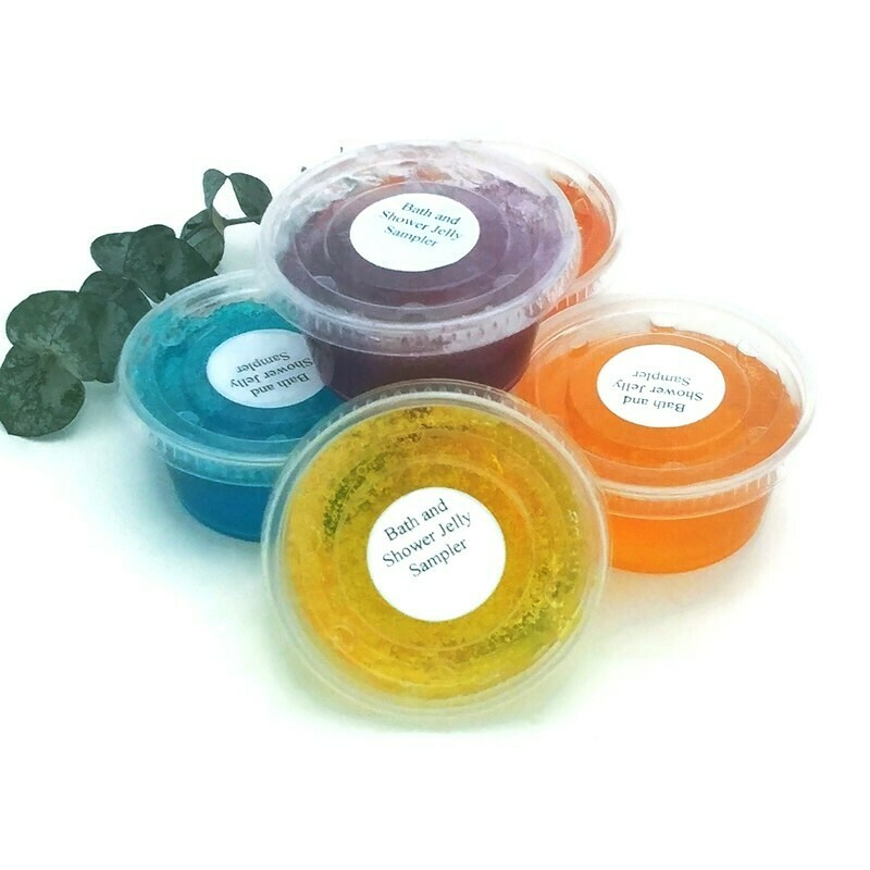 Bath and Shower Jelly Soap Sampler