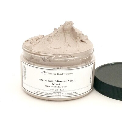 Arctic Mineral Facial Mud Mask 4 oz