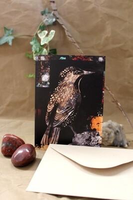 Starling Greetings Card