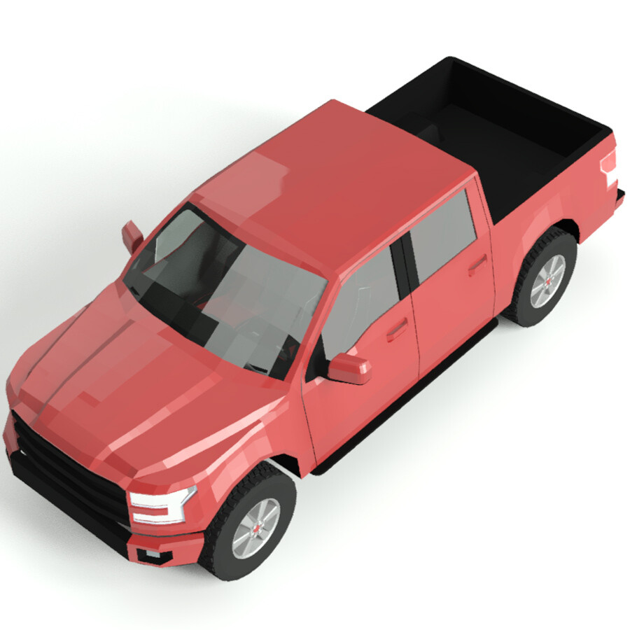 Ford F150 3D Model