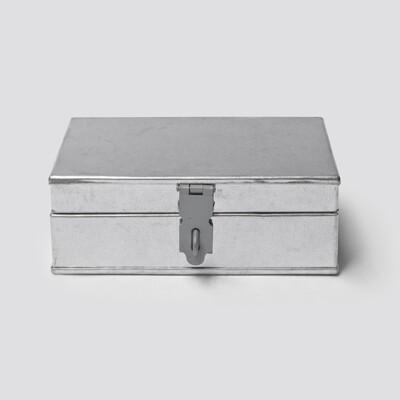 白鐵錢箱/工具箱